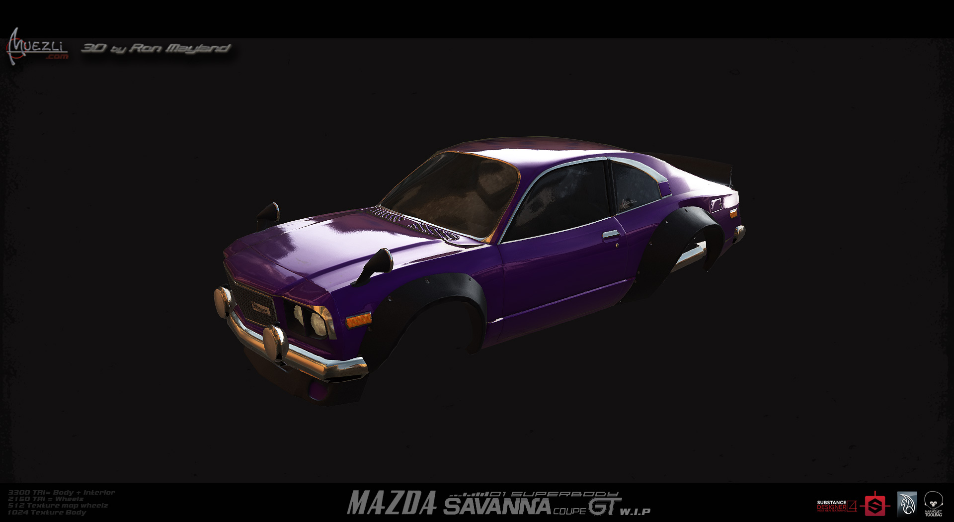 Mazda_gt_WiP by Ron Mayland